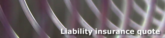 Liability insurance quote